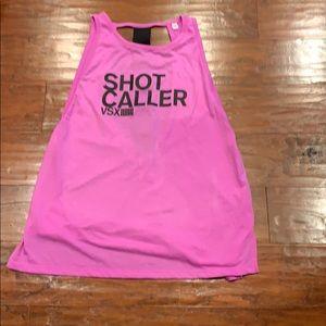 Victoria's Secret sport pink tank